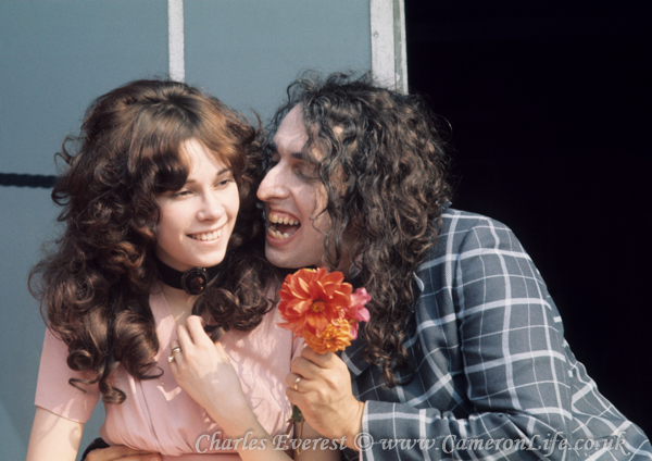 Tiny Tim and his lovely wife Little Vicky
